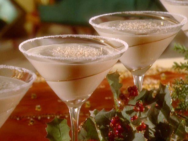 White Christmas Cocktail Drinks Pinterest