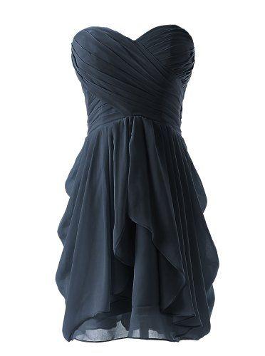 Black Bridesmaid Dresses Amazon 65