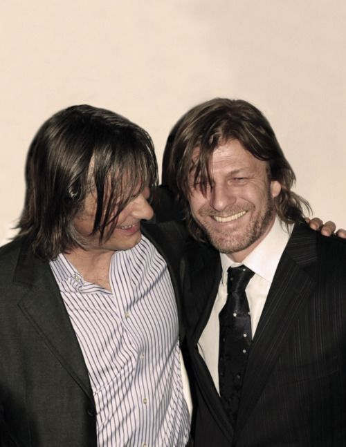 Sean Bean & Viggo Mortensen | tinseltown | Pinterest