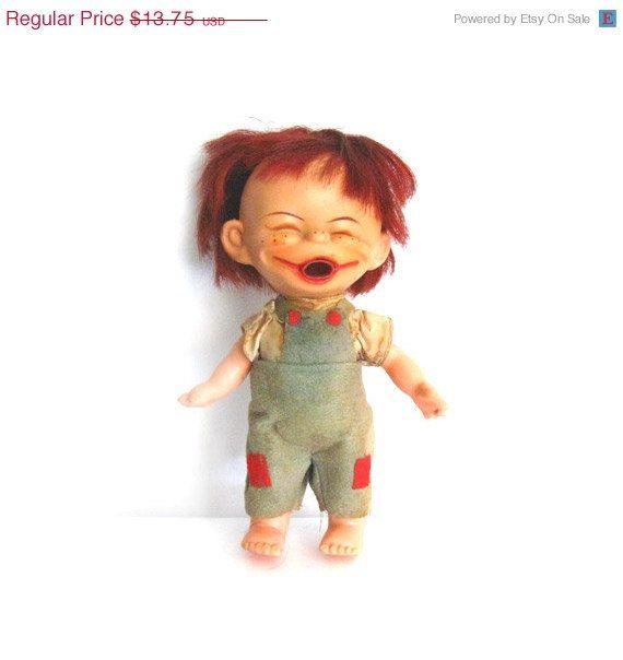 Toys 4 Brats : Vintage s rubber brat doll boy funny ugly toy