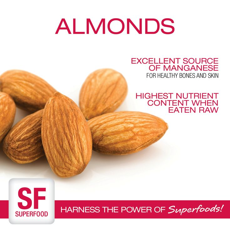 Almonds | Harness the Power of Superfoods! | Pinterest