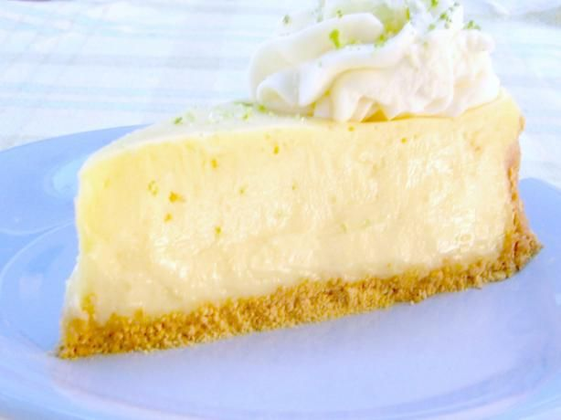 ... Key Lime Cheesecake from Food.com: My recipe for Key lime cheesecake