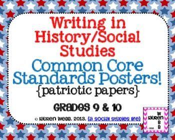 writing in social studies