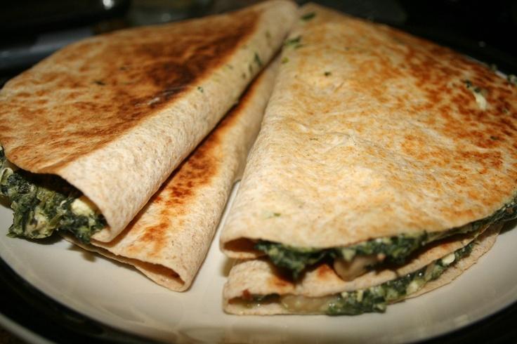 ... spinach feta quiche spinach and feta quesadillas spinach and feta