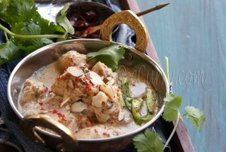 Curried Chicken in Almond Sauce | Meats/Entrées | Pinterest