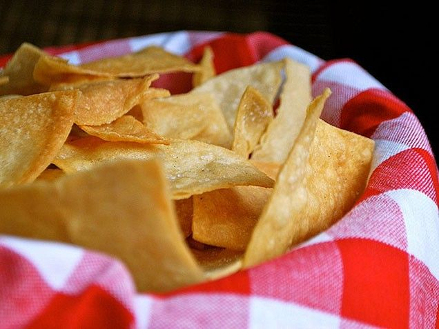 homemade tortilla chips | Recipes | Pinterest