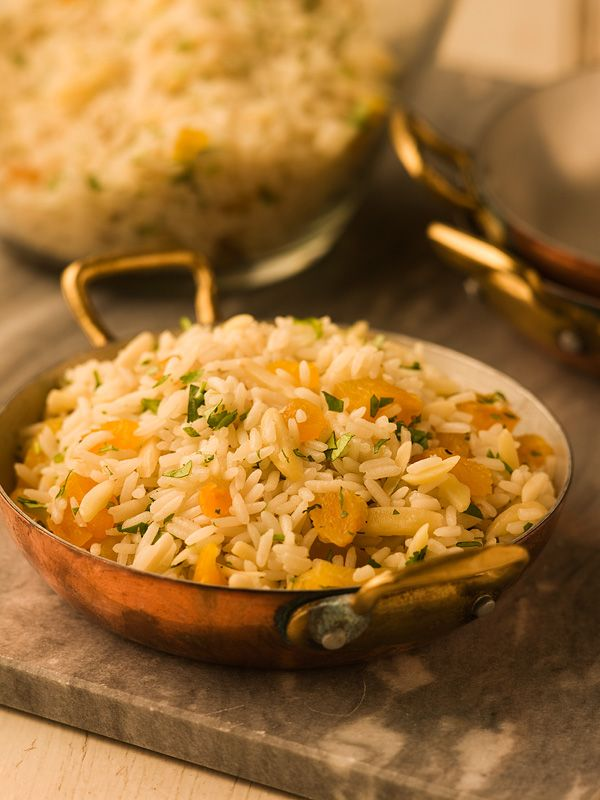 Rice Pilaf with Almonds | Rice/Quinoa | Pinterest