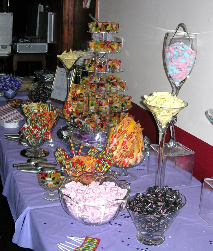 18th Birthday Sweet Bar