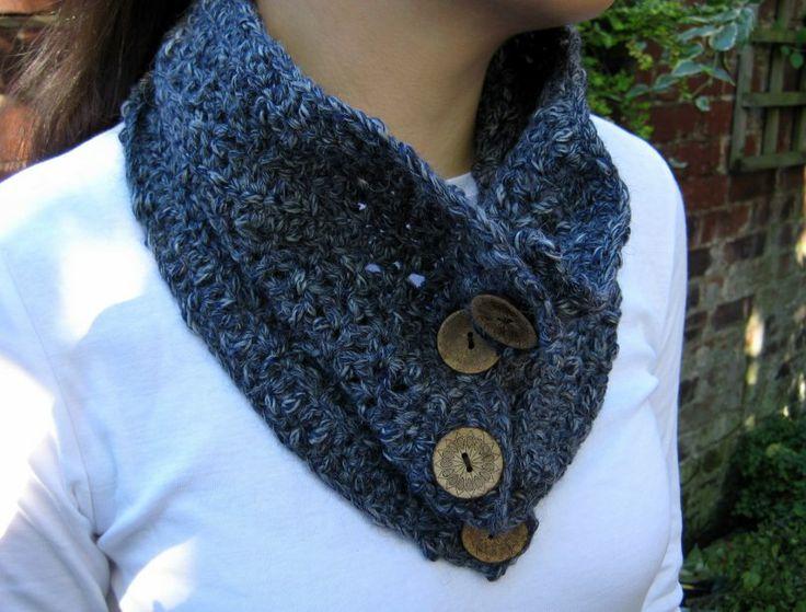 Easy Textured Cowl Pattern | knitting | Pinterest
