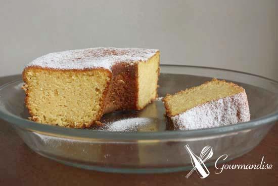 Brazilian cornmeal cake - gluten free (Bolo de fubá)