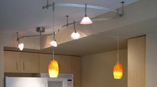 diy track lighting in any room in the house