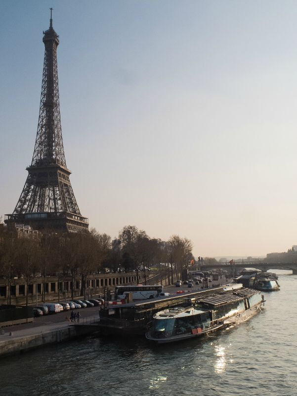 Paris / Bord de Seine