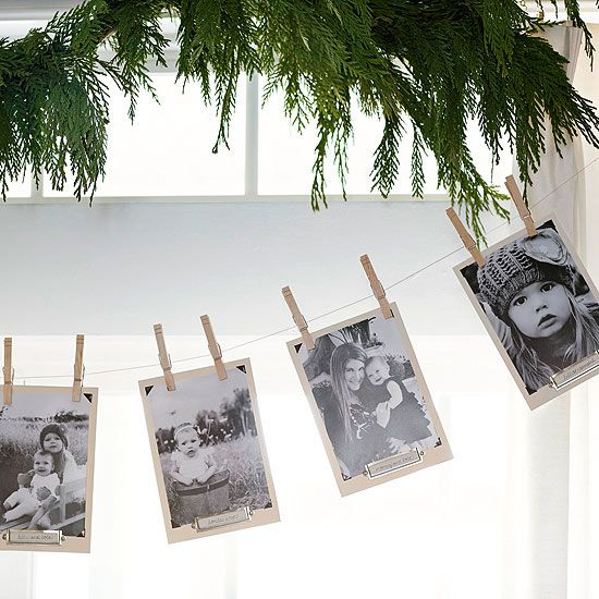 Ever-Changing Photo Garland