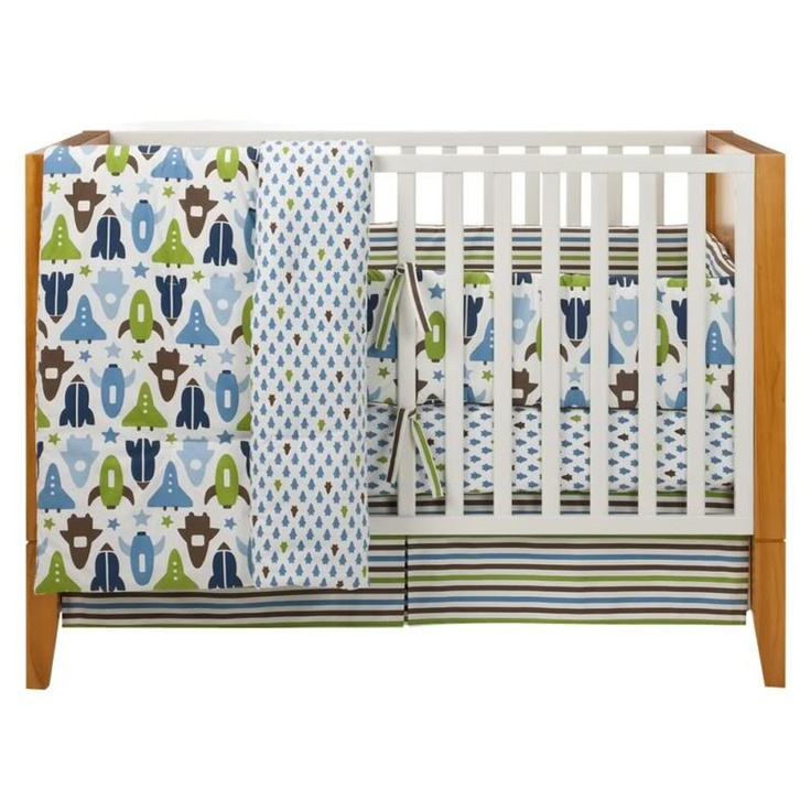 dwell studio space crib bedding images