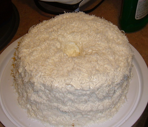 Coconut angel food cake | Heavenly Sweets | Pinterest