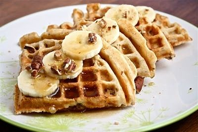 Banana Bread Waffles | Foodie | Pinterest