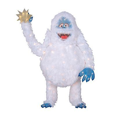 Pin by jackie blomberg on just plain cute pinterest for Abominable snowman yard decoration