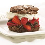 Chocolate Strawberry Shortcakes Recipe