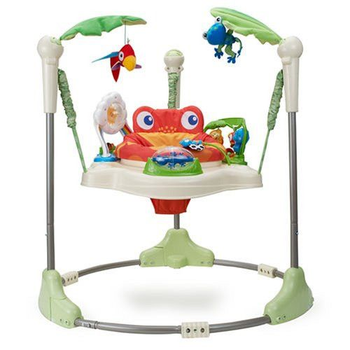 New Fisher Price Rainforest Jumperoo Baby Jumper Walker