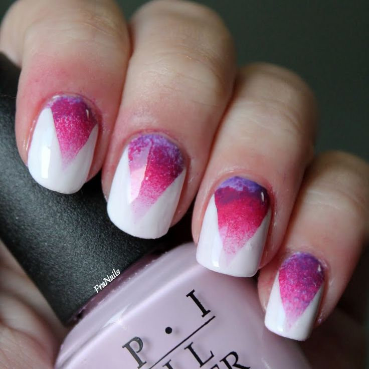 Images Of Gradient Nail Art: Nuthin but a nail thing green blue and ...