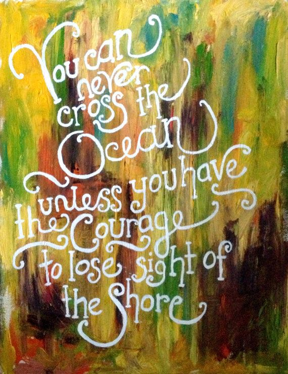 Inspirational quote on abstract oil painting you can for Inspirational paintings abstract