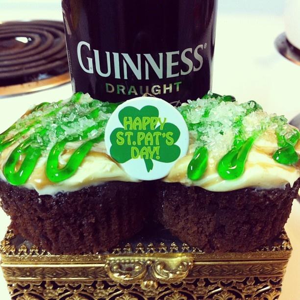 Guinness Cupcakes | Yummy | Pinterest