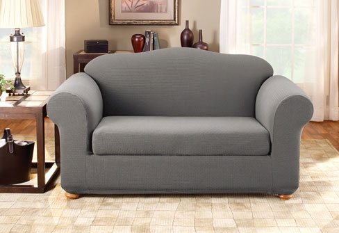 I have ALWAYS wanted a grey couch Home