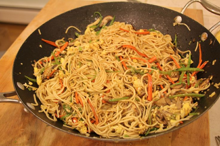 RECIPE: VEGETABLE LO MEIN | Yummmmm | Pinterest