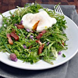 Salad Lyonnaise | Recipes: Salads | Pinterest