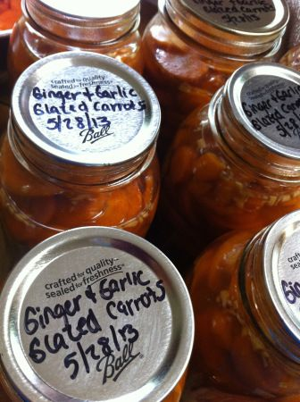 Canning: ginger garlic glazed carrots | Canning and Preserving | Pint ...