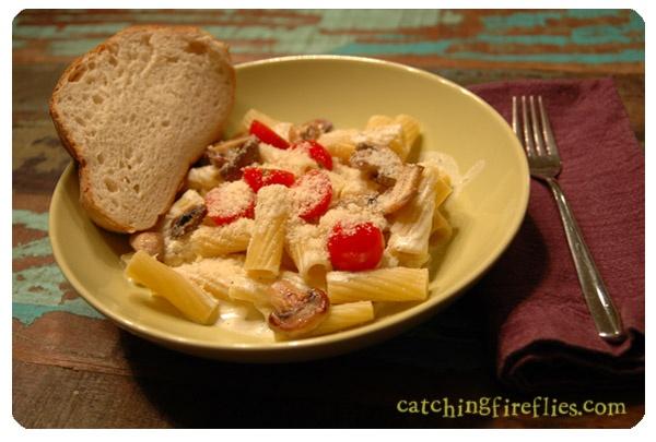 four cheese pasta sauce   I love food!   Pinterest