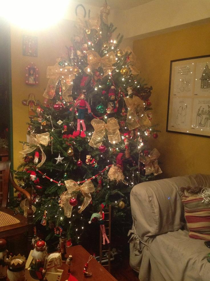Rbol de navidad decoracion de navidad arbolitos pinterest - Arbol de navidad adornos ...