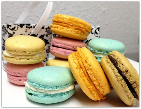 French Macarons Assorted Wedding Favor by SugarMeDesserterie, $18.50 ...