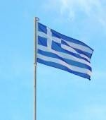 why is the greek flag blue and white