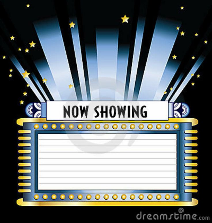 Movie Theater Clip Art Free Movie Marquee Clip Art
