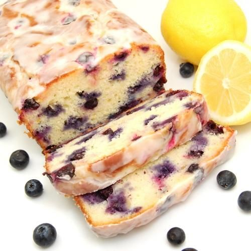Lemon-blueberry yogurt cake/bread.... | Food & Drink | Pinterest