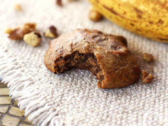 Vegan Banana Walnut Bread Cookies | Cookies | Pinterest