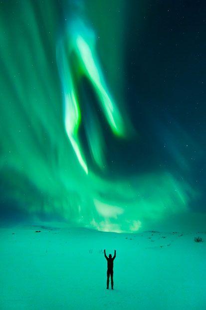Aurora borealis in  Norway (Northern Lights by Tommy Eliassen)