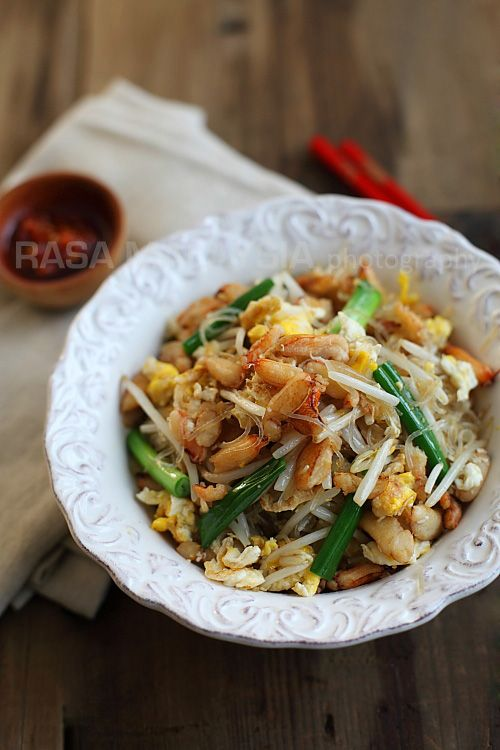 Crab Noodles Recipes - bean sprouts, egg, scallions, sesame oil ...