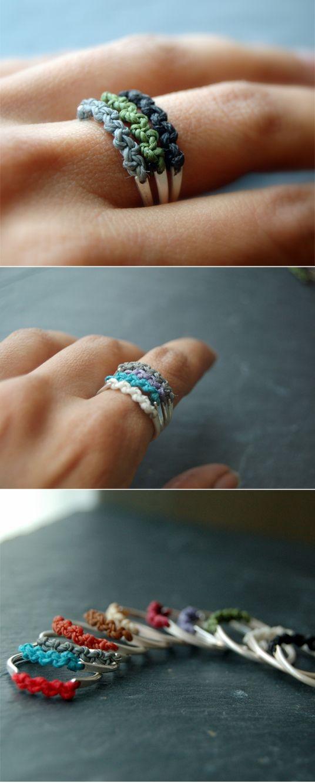 DIY ring! might be a good present idea!