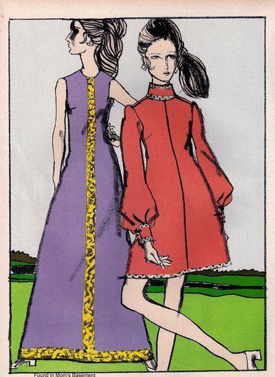 Fashion illust 1969