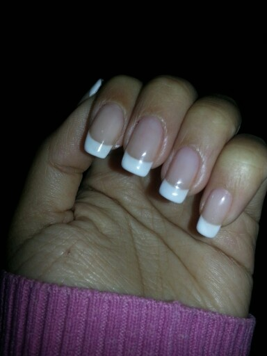 French manicure - gel color by Opi