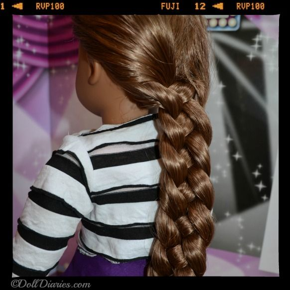 ... hairstyle for American Girl dolls and other dolls with long hair