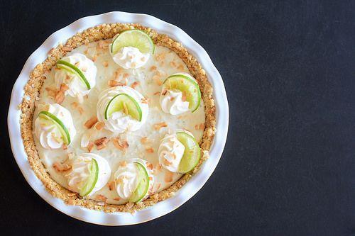 Key Lime Pie with Macadamia Nut Crust | Recipe