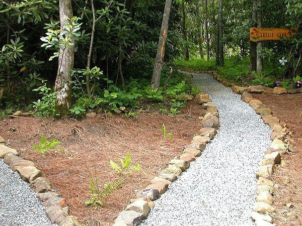 Pathway Landscaping Ideas For Cabin Pinterest