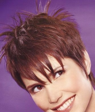 cute spiky short sassy hairstyle  hairstyles i love
