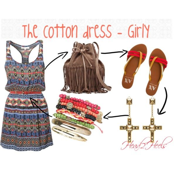 """The Cotton dress - girly"" by head2heels on Polyvore"