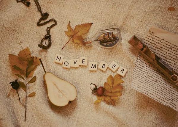 It's finally November! (11-23-13!)