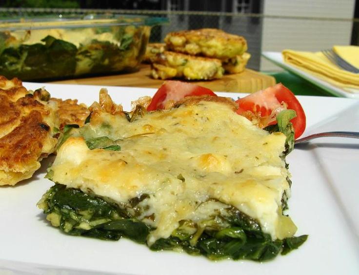 Recipe Re-Make - Spinach-Feta Bake | Food | Pinterest