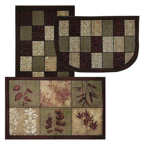 Mohawk Home Kitchen Collection Leaf Array Rugs | Kohl's: pinterest.com/pin/329114685238545621